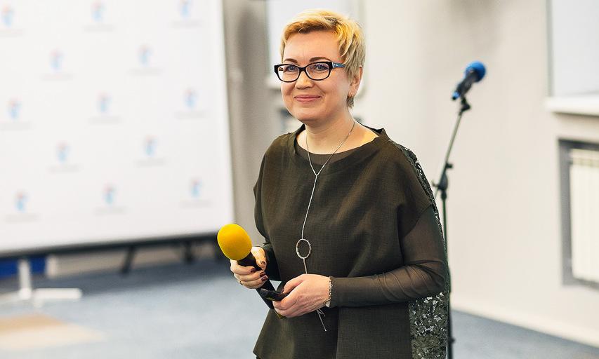 Директор Мурманского филиала ПАО «Ростелеком» Ольга Шаньгина.
